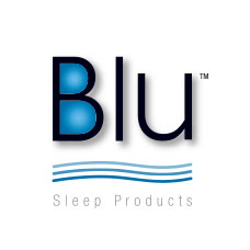 logo blu sleep products