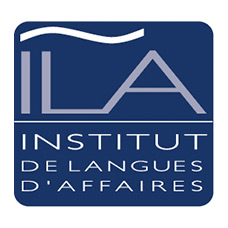logo institut de langues d affaires ila