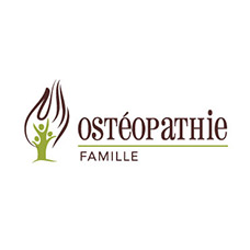 logo osteopathie famille