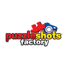 logo puzzle shots factory