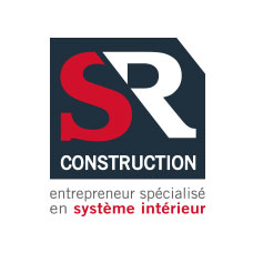 logo sr construction