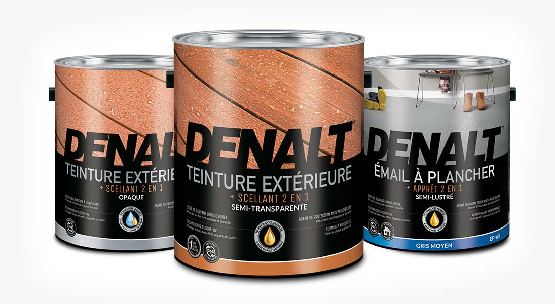 Emballage packaging denalt canac - conception design graphisme laval emballage packaging energik
