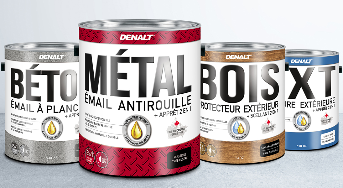 Emballage packaging denalt  - conception design graphisme laval emballage packaging energik