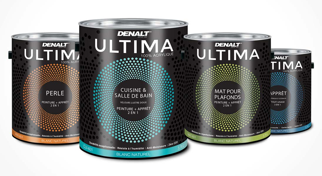 Emballage packaging denalt canac ultima  - conception design graphisme laval emballage packaging energik