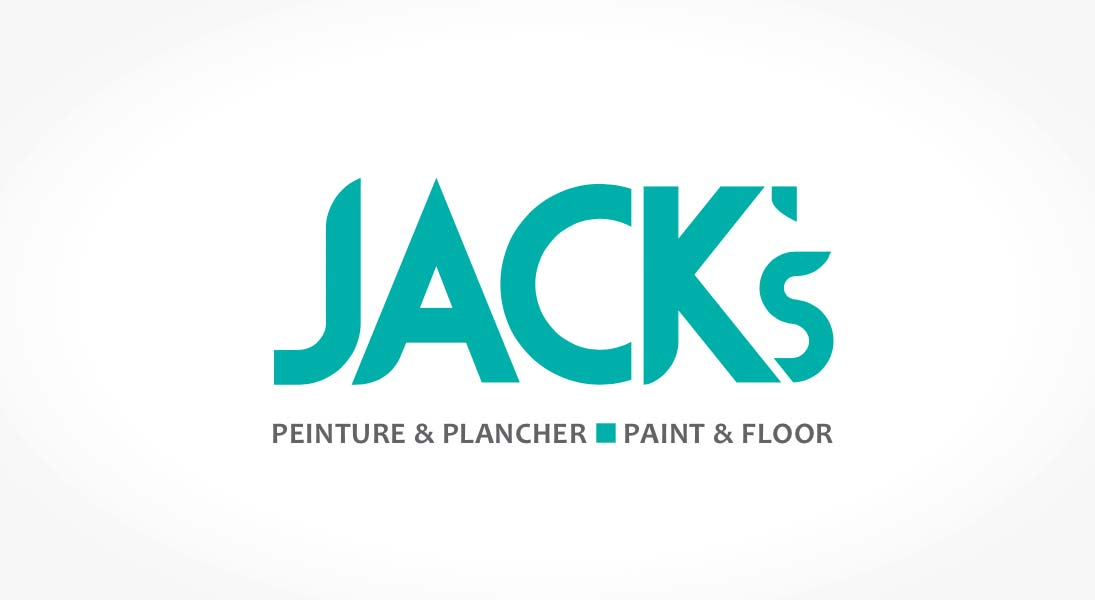logo  Jacks flooring -   logo stationery conception design graphism laval energik