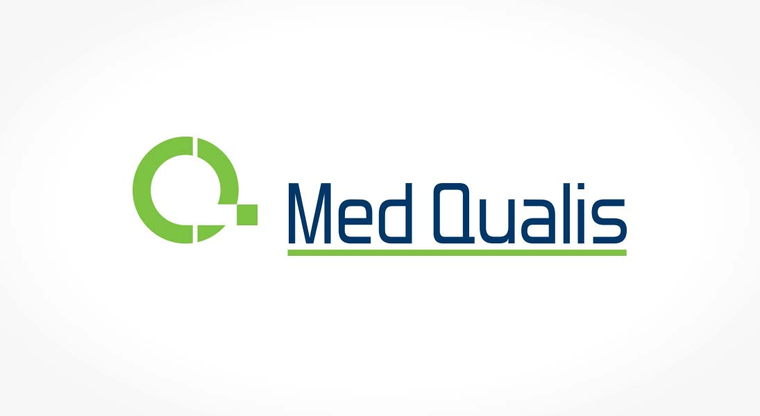 logo med qualis - conception design graphism laval energik