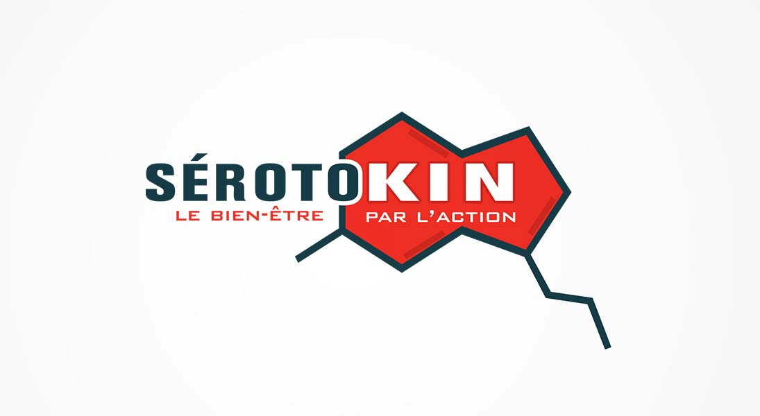 logo Serotokin - crossfit entreprise well being logo stationery conception design graphism laval energik