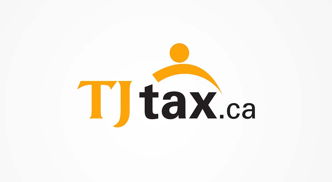 logo Tj tax - Accountant and finance logo stationery conception design graphism laval energik