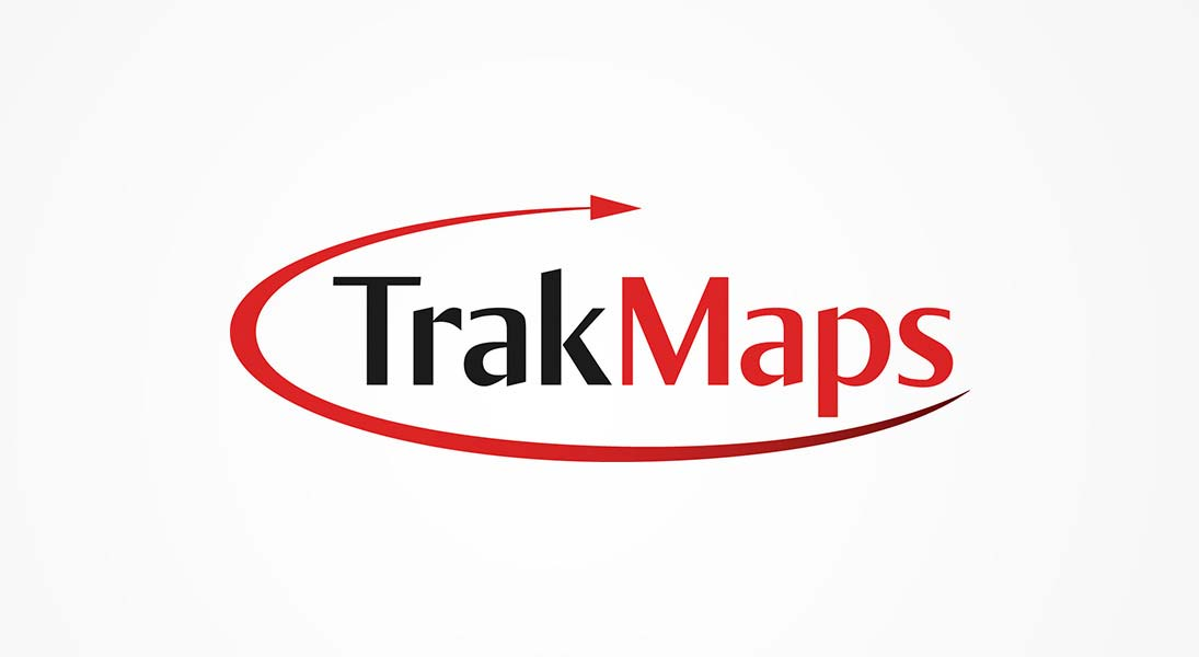 logo Trakmaps - localisation logo stationery conception design graphism laval energik