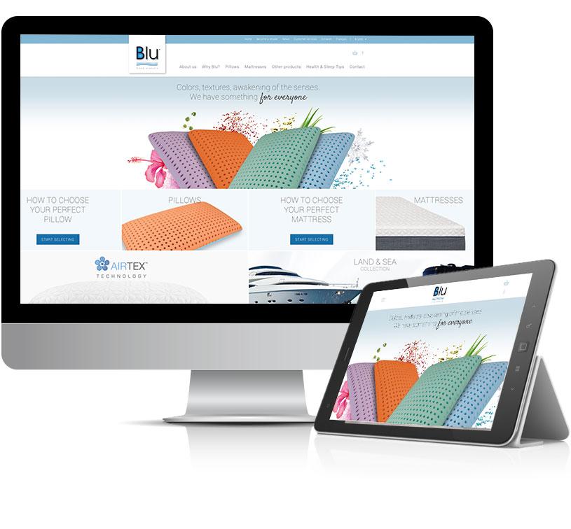 Portfolio de r alisations site web for Papeterie brossard